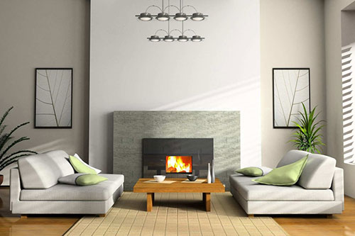 Interior and Fireplaces